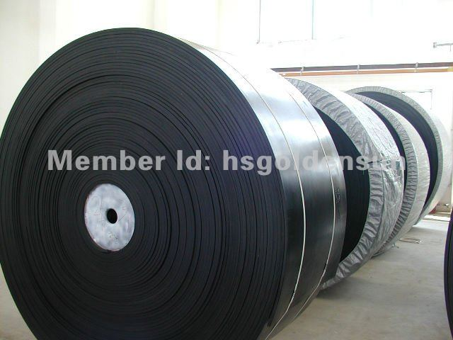 rubber steel / cotton canvas conveyor belt for mining conveyor