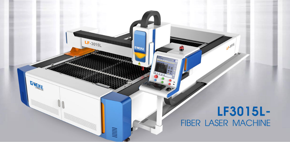 <strong>G</strong>.Weike Cheap price <strong>1000W</strong> Fiber laser cutting machines LF3015L