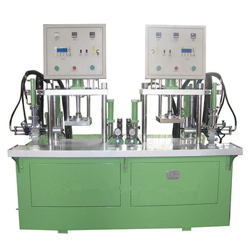 Model 10T vertical double-station non-cylinder wax injection machine.