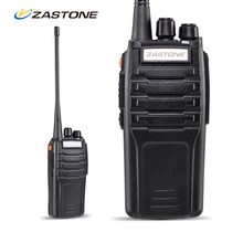 ZASTONE hot selling black color ZT-A9 10W powerful handheld VHF handy talky dual band