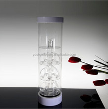 Acrylic Material countertop rotating jewelry display stand