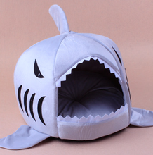 Big Shark Shap Sponge Cute Pet Dog House Manufacture And Wholesaling