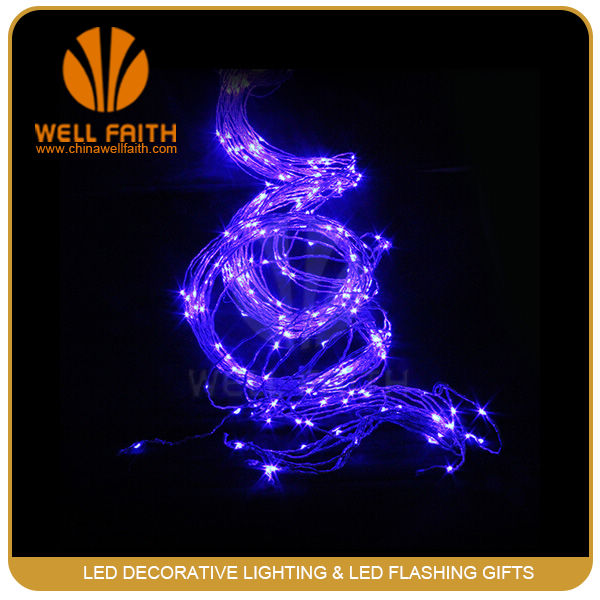 White background wedding favor led hanging tree light, led tree branch lights