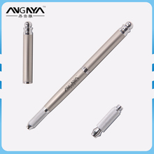 ANGNYA Factory Wholesale Hot Sale Microblading Eyebrow Permanent Tattoo Pen With Silver Metal Handle