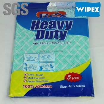 daily use nonwoven wipers