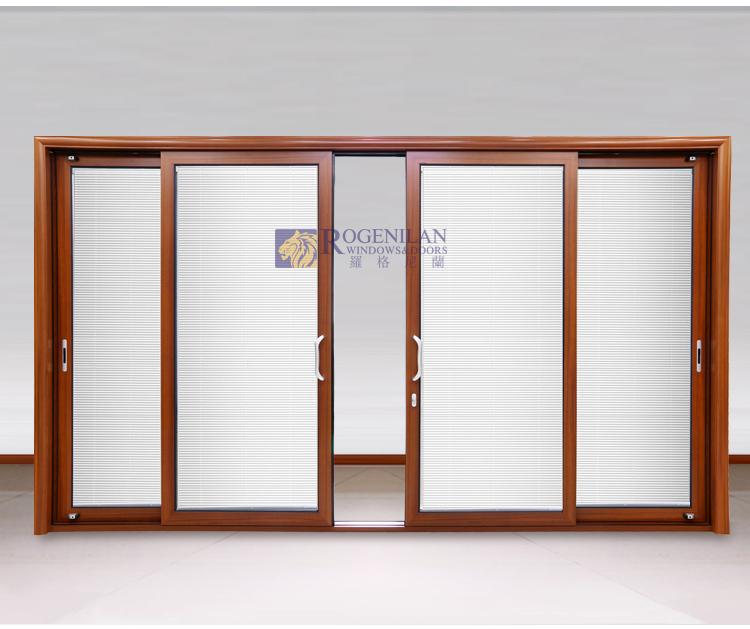 Rogenilan Exterior Commercial Large Size Tempered Glass Triple Sliding Closet Door Buy Triple