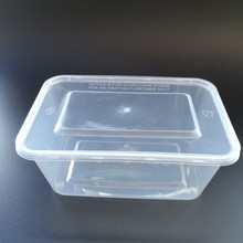 Hot Disposable 1000Ml Food Storage Parcel Sterile Plastic Food Container