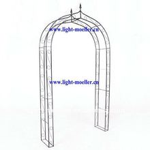 wrought iron garden arch LMGR-51003