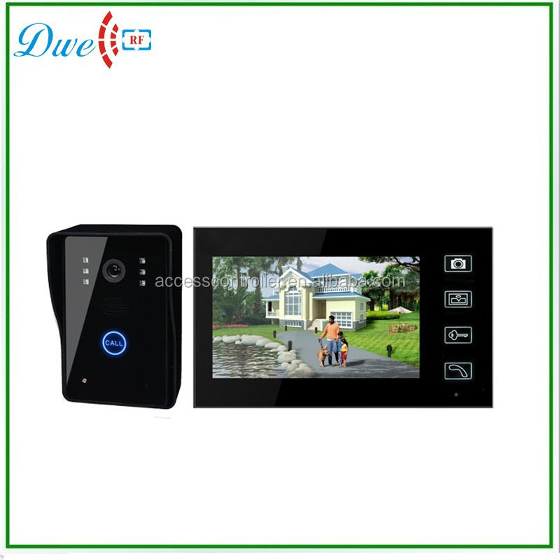New Arrival 7inch Touch Screen Max 4 camera Support Up To 4 Monitors Widely Used for Home Apartment Video Door Phone