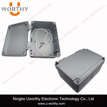Hinged Aluminum Enclosure with Waterproof Seal for External Crossover 180 X 135 X 87 mm