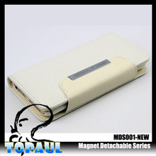 Factory new product blank soft PU leather flip phone case for sony z3 compact
