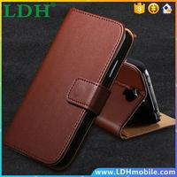 New Luxury Retro Style Real Leather Wallet Case For Samsung Galaxy S4 Mini I9190 Stand Flip Mobile Phone Bag Cover FET03475