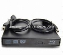 External USB Blu-ray DVD burner for laptop