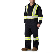 Coverall Style Flame Resistant Workwear With FR Reflective Tape