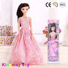 Hot Sale Plastic Cheap Baby Doll Girls Toys For Wholesale