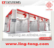 Aluminium Octanorm similar Customized Standard Exhibition Booth 10x10 System