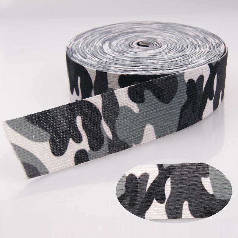 100% polyester webbing tactical military army belt with sublimation print
