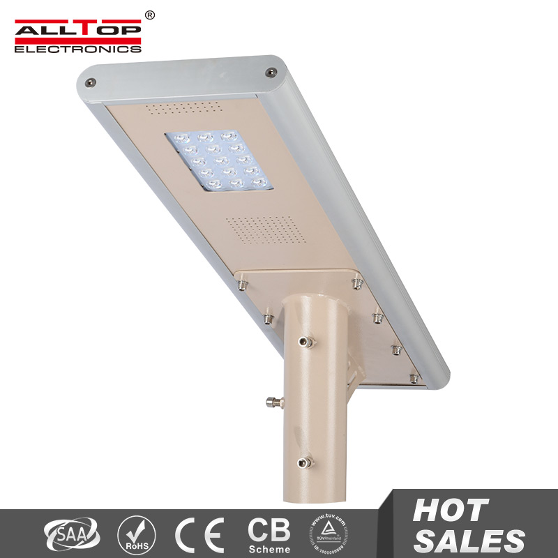 Wholesale products Bridgelux chip 15W all in one solar led street light price