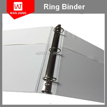 A4/FC custom ring binder/3 ring binder leather cover/white ring binder