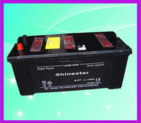 JIS Standard 12V 180 Ah Dry Charge Car Battery N180 With Manufacturer price
