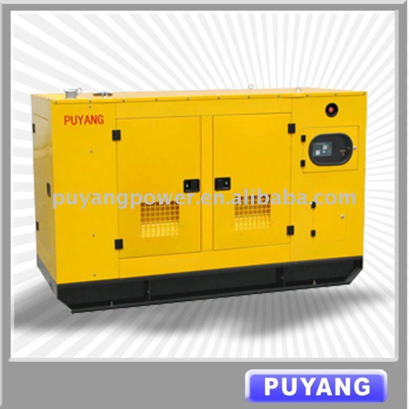 With AMF function 30kVA to 150kVA watercooled Deutz diesel engine power generator with 8 hours daily fuel tank