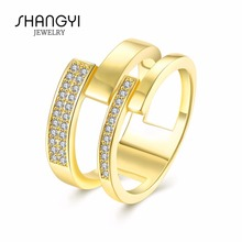 18K 150 All Diamond Pure Gold Ring