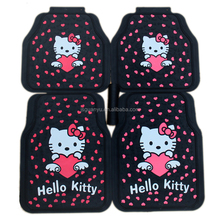 High quality cartoon car foot mat