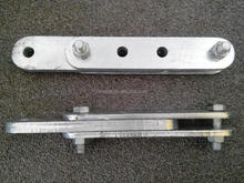 HDG carbon steel Parallel bracket,Parallel plate