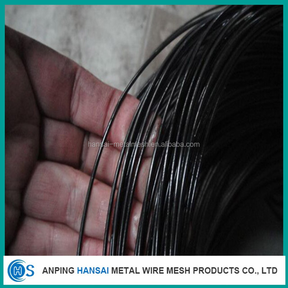 Hebei low price soft 18 gauge black annealed iron tie wire/black binding wire manufacturer