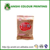 Sugar printed plastic bags for candy package high quality