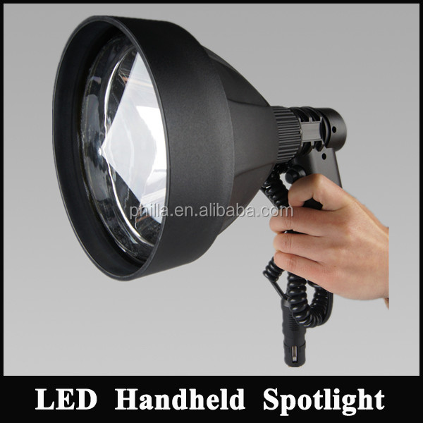 Powerful Cree T6 10W LED Rechargeable Flashlight Portable LED Handheld Spotlight