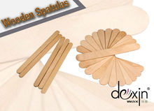 Cosmetic Wooden Spatulas for hair removal