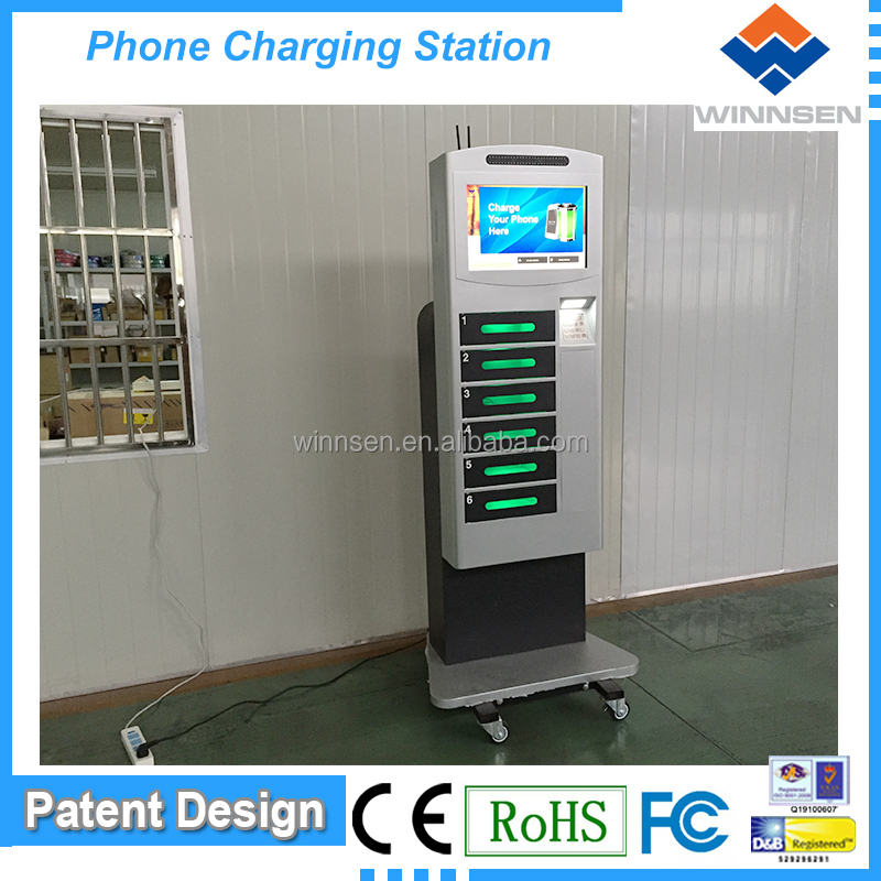 advertising display units/public mobile phone charging station APC-06B
