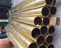 ASTM B111 C7060-O C71500 Big Seamless Copper- Nickle 90-10 90-30 Brass Tubes