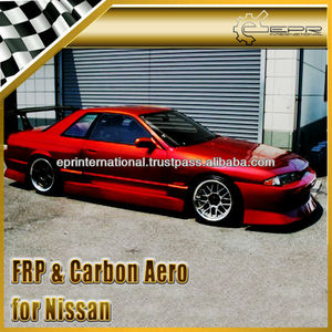 For Nissan Skyline R32 GTR UR Style Full Bumper Body Kit