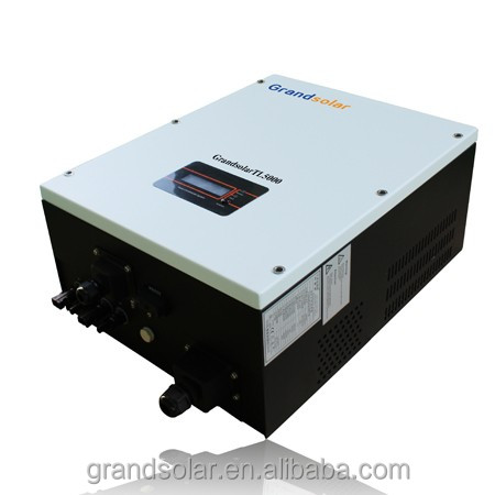 2016 HOT SELL 5000W MPPT SINGLE PHASE SOLAR GRID TIE INVERTER WITH REASONABLE PRICE