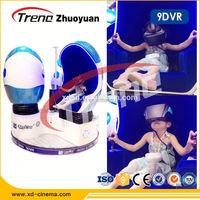 Interactive 360 view game and movies 9D VR simulator experience Virtual Reality egg Cinema