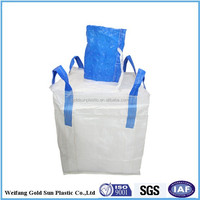 Food Grade FIBC Bags/Shandong manufacturer 1 ton PP super sacks ,big bulk bags for sand/fertilzier