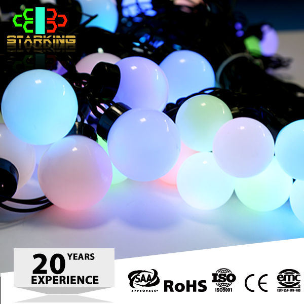 2x3M 600L decorative remote control battery operated led ball string lights