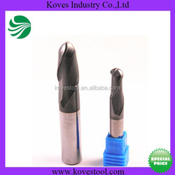diamond tools milling machine accessory carbide ball nose end mill tools for cutting wood