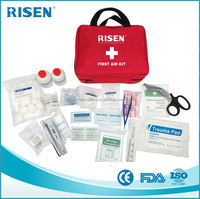 Professional basic trauma first aid kit for sale