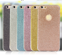 New arrival! glitter with diamond full cover TPU case For Iphone 6,Hot Selling For Iphone6 Case