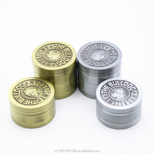 3 Parts 4 Parts 40mm Zinc Alloy Spice Metal Herb Grinder Silver Bronze Portable Smoking Crusher EKJ GT-3 GT-4