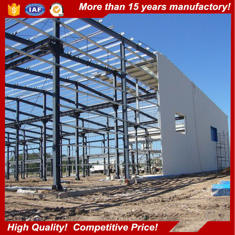 Prefabricated metal building prices of steel structure