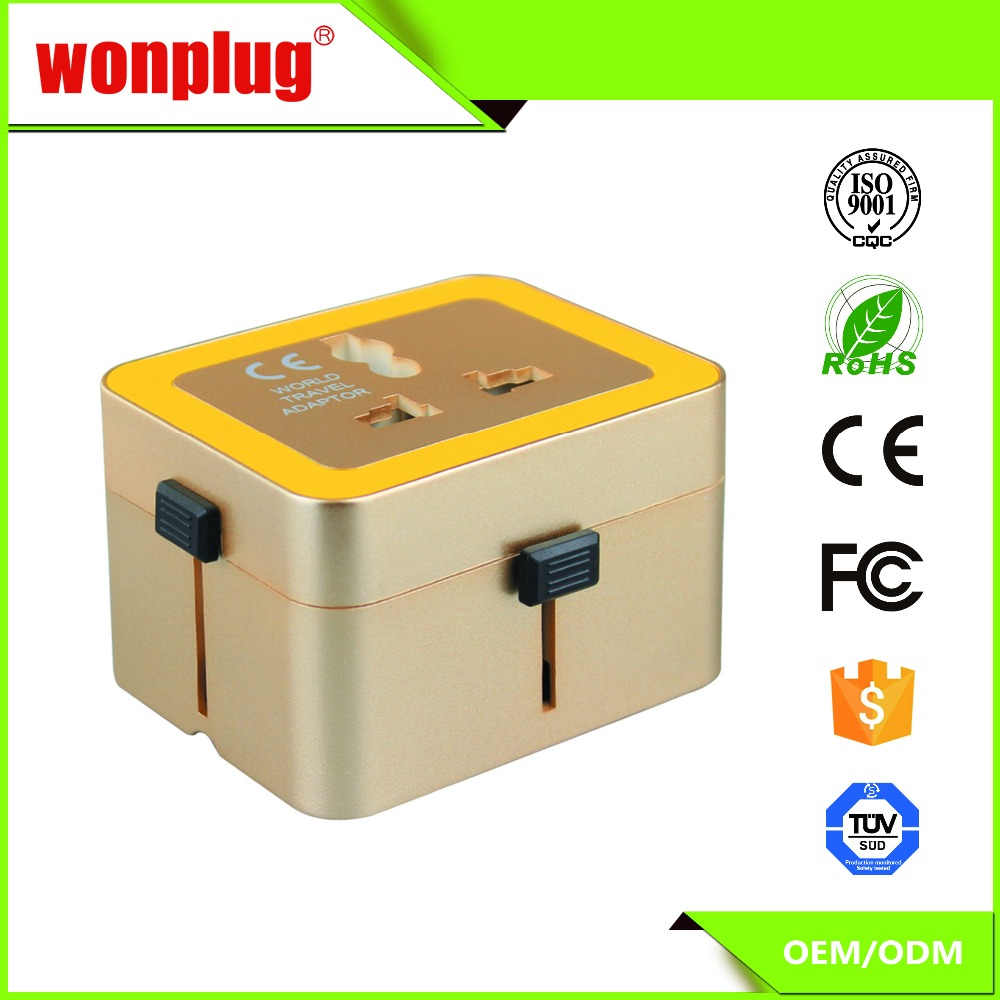 New Arrival Convenience Outlet High Quality Universal Travel Adapter