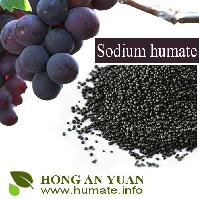 WATER SOLUBILITY 100% BLACK SHINY FLAKES SUPER SODIUM HUMATE
