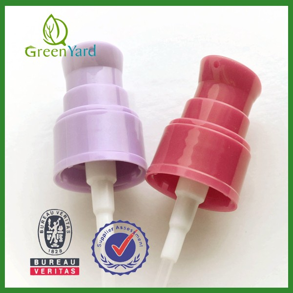 28mm Non Spill Plastic Bottle Use Plastic Soap Dispenser pumps China Alibaba Verified Lotion Pump Manufacture Yuyao