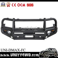 Wholesale Rolled Steel 4x4 bull bar/front bumper for D-MAX