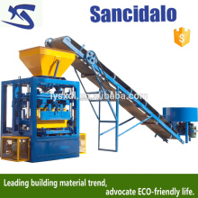 concrete block making large mobile big, home use manual cement brick making machine