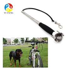 High quality 30 foot coach dog leash dogs on bicycles